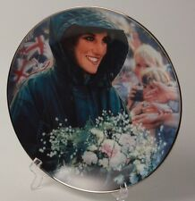 The People's Princess Diana Collector Plate Franklin Mint Htf