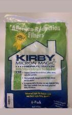 6- KIRBY VACUUM BAGS MAGIC HEPA MICRON CLOTH BAGS Micro Allergen Technology