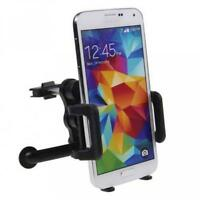 CAR MOUNT AC AIR VENT HOLDER ROTATING CRADLE SWIVEL DOCK W1T For CELL PHONES