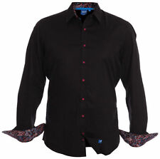 No Pattern Regular Button Down Casual Shirts & Tops for Men