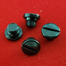 Custom Taurus PT-57, PT-58 Grip screws 4 pack Black
