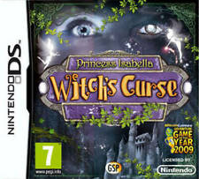 princess isabella witch's curse ds