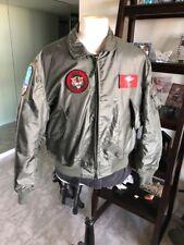 Military, Cold War USAF/Navy/USMC Flight Jacket. Aramid CWU 36/P 💎 Sz XL Nice