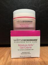 NEW W/ BOX Wilma Schumann, European Skin Care, Moisture Activ Gel-Creme (1.7 oz)