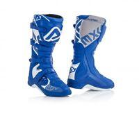 stivali cross enduro Acerbis X-Team 2018 new colore blu bianco boots