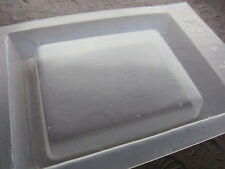 """Resin Mold 3.5"""" x 2.5"""" Rectangle Tile Base Belt Buckle Paperweight 88 x 68mm"""