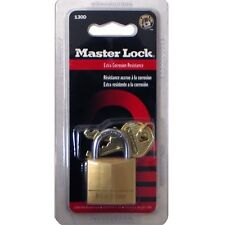 2 Pieces Master Small Metal Brass Padlock 130D With 2 Keys Size 30 mm lock