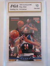 1996 RAY ALLEN #84 FGA GRADED 10 GEM MINT BASKETBALL CARD    BOX W
