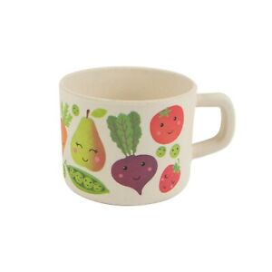 Sass & Belle Happy Fruit & Veg Bamboo kids Cup - Mini - COLD DRINKS ONLY