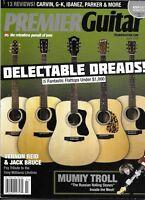 Premier Guitar Magazine Budget Flattops Mumiy Troll Tony Williams Tribute Amps