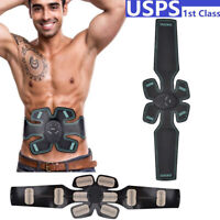 Muscle Training Gear Stimulater Abdominal Waist Body Exercise Fitness Massager
