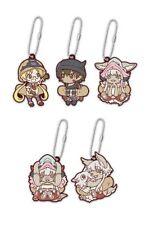 Made in Abyss Anime Mascot Swing PVC Keychain Set Riko Reg Nanachi Mitty ND71028