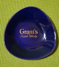 Grant's Scotch Whisky Ashtray Blue Scottland