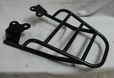 TRIUMPH 900 STREET TWIN NEW T100 REAR STAINLESS RACK powder coat color BLACK NEW