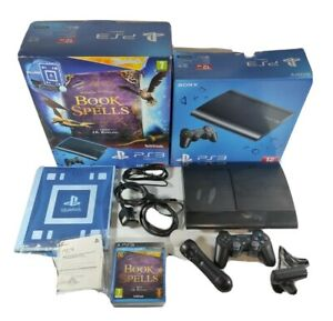 Playstation 3 PS3 Super Slim Console Bundle Boxed Book Of Spells Harry Potter