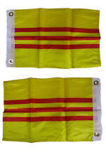 12x18 South Vietnam Country 2 Faced 2-ply Nylon Wind Resistant Flag 12x18 Inch