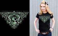 Lucky Mule Green Fairy Top Shirt Rockabilly Pinup Goth Punk Tattoo Absinthe  L
