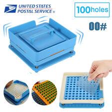 Capsule Filling Machine 100 Holes Capsule Filler Size 00 Flate Maker Food Grade