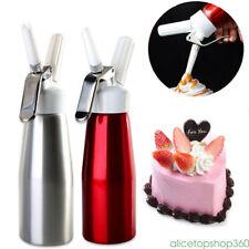 AU NEW Whip Coffee Dessert Foam Whipper Cake Fresh Cream Butter Dispenser Maker