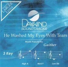 Gaither - He Washed My Eyes With Tears - Accompaniment CD New