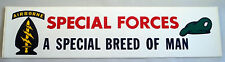 """US Army Decal - Bumper Sticker - Special Forces  """" A Special Breed Of Man"""""""