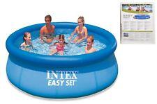 "Intex Easy Set Inflatable Swimming Paddling Pool 10` x  30"" New Summer 2019"