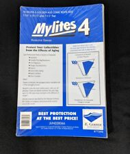 50 E. Gerber Mylites 4 Mil Mylar  Silver & Golden Age Comic Book Sleeves 775M4
