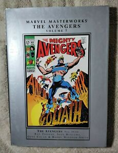 Marvel Masterworks The Avengers  Vol 7  HC N-Mint