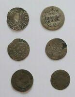 Lote Monedas Bremen Est. Aleman 1683 - 1750 Aprox