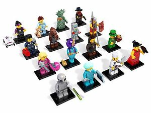 LEGO 8827 Complete Set of 16 Minifigures Series 6 New