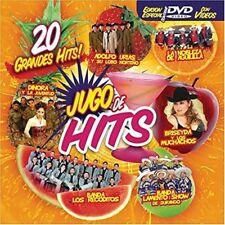 Adolfo Urias, Dinora y La Juventud,Briseyda Jugo De Hits CD+DVD New