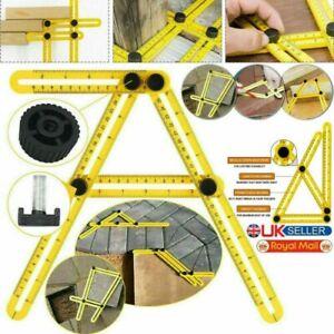 Tile Ruler Multi Angle Template Tile Measuring Ruler Tool - FREE UK Shipping **