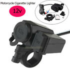 1x Waterproof USB Motorcycle Phone GPS Cigarette Lighter CAY Charger for Harley