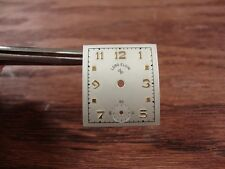 NOS VINTAGE SQUARE ELGIN DIAL-ORIGINAL-HARD TO FIND-FREE SHIPPING-NICE!!!!!!!!!!