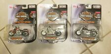 MAISTO Harley Davidson Motorcycle 1:24 Die Cast - 2000 FLSTF Fat Boy White lot 3
