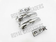 NEW WILLYS JEEP 50-52 M38s CJS FORD CHROMED WINDSHIELD INTERIOR LATCH KIT