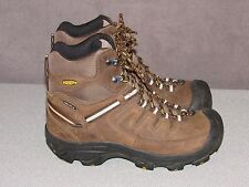 KEEN Delta Waterproof Insulated Hiking Boots Brown Leather Women's Size 8 / 38.5