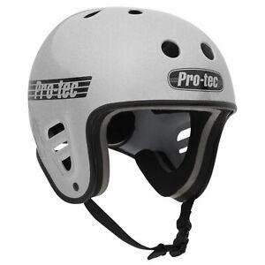 Pro-Tec Full Cut Water w/ Accessory Clip (Silver Flake) Wakeboard Helmet