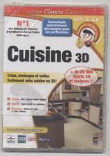 NEUF LOGICIEL CUISINE 3D AGENCEZ CREEZ + DE 20000 OBJETS 3D SOUS BLISTER CDROMPC
