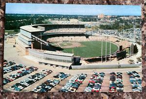 Vintage1955 Milwaukee County Stadium Postcard - Braves, Packers, Marquette