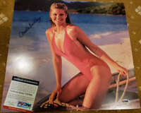 Christie Brinkley Psa Dna Coa Hand Signed 12x12 Calendar Photo Autograph