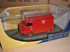 Eligor 100991 - Citroen Type H Pompiers des Ardennes - 1:43 Made in France
