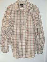 Men's long Sleeve Checked Dress Shirt by Arrow size 17-171/2
