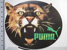 Aufkleber Sticker Puma - Sport - black/green (1518)