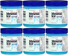6 Pack Mineral Ice Pain Relieving Gel 3.50 oz