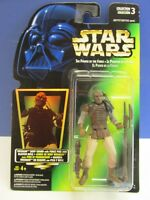 star wars POWER OF THE FORCE potf 2 GREEN CARD action figure 1996 kenner VINTAGE