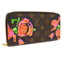 LOUIS VUITTON ZIPPY WALLET PURSE MONOGRAM ROSES M93759 JT08644f