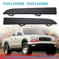FRONT HEADLIGHT FILLER TRIM PANELS BUMPER GRILLE FOR TOYOTA TACOMA 2001-2004
