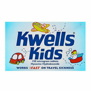 Kwells Kids Nausea and Travel Sickness 150 Microgram 12- Tablets