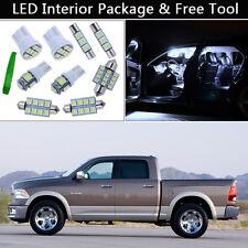 5PCS White LED Interior Lights Package kit Fit 2009-2012 Dodge RAM 1500 3500 J1